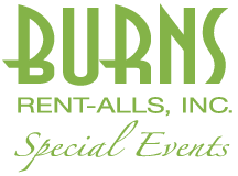 Burns Rent-Alls: Special Event Rentals