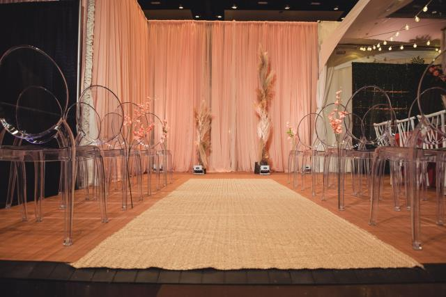 Where to find DRAPE PEACH SHEER 12  X 118 in Mishawaka