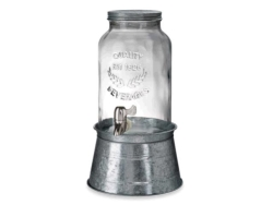 Rental store for Glass Jar Drink Dispenser  2 Gal in Mishawaka IN