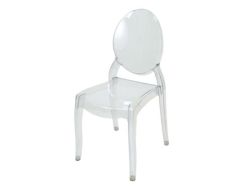 Rental store for CHLOE CHAIR  CLEAR in Mishawaka IN