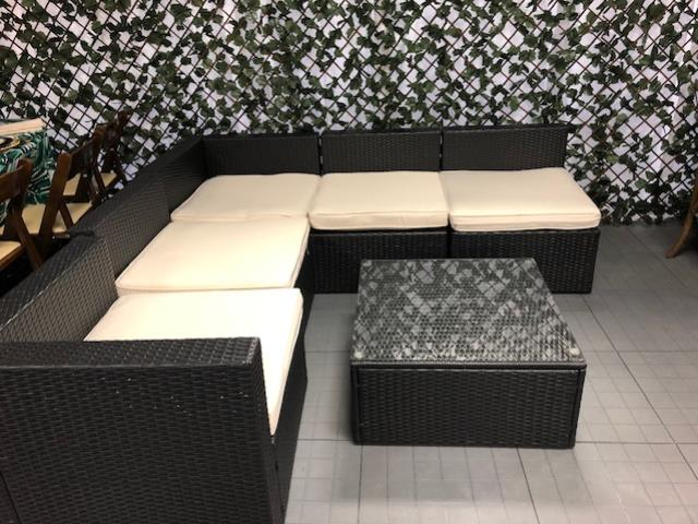 Where to find WICKER PATIO FURNITURE 6 PIECE PACKAGE in Mishawaka