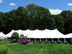 Rental store for 40 X120  WHITE EVOLUTION POLE TENTS in Mishawaka IN