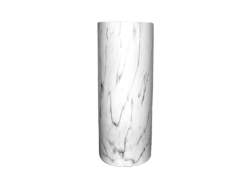Rental store for MARBLE CERAMIC VASE  CYLINDER 12 X5 in Mishawaka IN