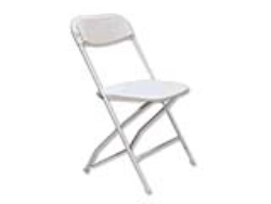 Rental store for WHITE FOLDING CHAIR in Mishawaka IN