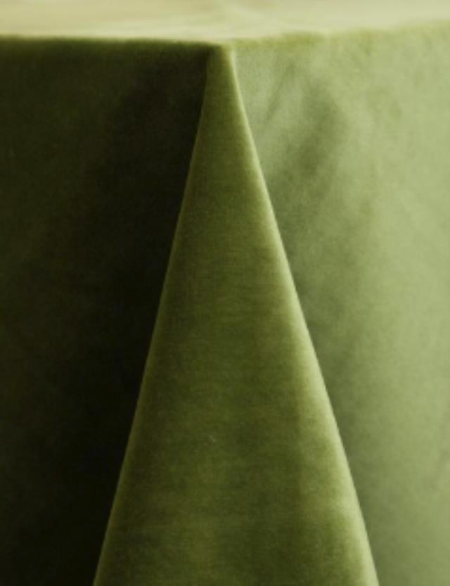 Where to find LEAF GREEN VELVET LINEN in Mishawaka
