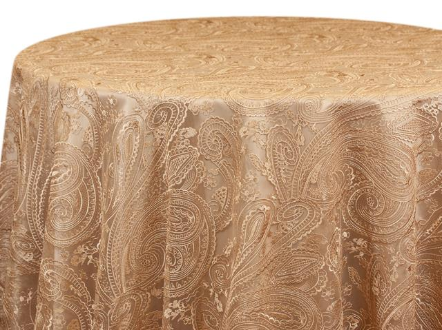 Where to find CHAMPAGNE PAISLEY LACE LINEN in Mishawaka