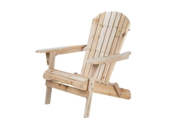 Rental store for NATURAL WOOD ADIRONDACK CHAIR in Mishawaka IN
