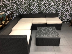 Rental store for BLACK WICKER PATIO LOUNGE FURNITURE in Mishawaka IN