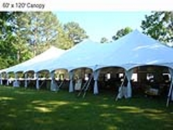 Rental store for 60 X110  WHITE GENESIS POLE TENT in Mishawaka IN