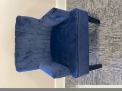 Rental store for VELVET ARM CHAIR NAVY in Mishawaka IN