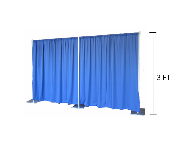 Where to find 3  PIPE   DRAPE  PER FOOT in Mishawaka