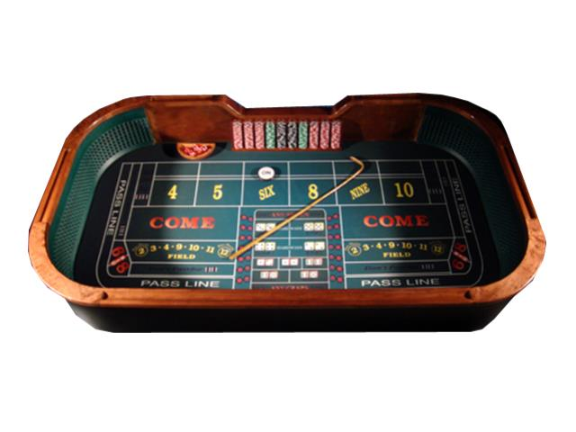 Where to find CRAPS TABLE in Mishawaka