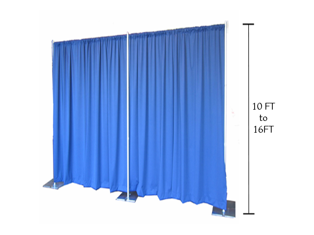 Where to find 10-16  PIPE   DRAPE  PER FOOT in Mishawaka
