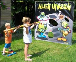 Rental store for ALIEN INVASION GAME in Mishawaka IN