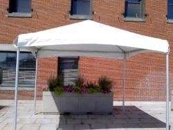 Rental store for 10 X10  WHITE 1 PIECE FRAME TENTS in Mishawaka IN