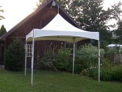 Rental store for 10 X10  WHITE VISTA FRAME TENTS in Mishawaka IN