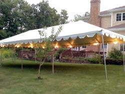 Rental store for 20 X40  WHITE 1 PIECE FRAME TENTS in Mishawaka IN
