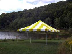 Rental store for 20 X20  Y W EXPANDABLE FRAME TENTS in Mishawaka IN