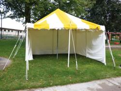 Rental store for 15 X15  Y W  POLE TENT in Mishawaka IN