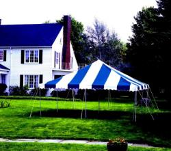 Rental store for 20 X20  B W POLE TENTS in Mishawaka IN