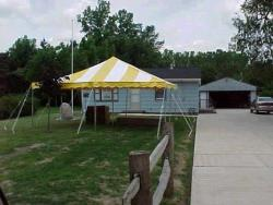 Rental store for 20 X20  Y W POLE TENTS in Mishawaka IN