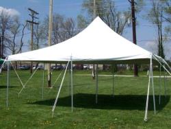 Rental store for 20 X20  WHITE POLE TENTS in Mishawaka IN
