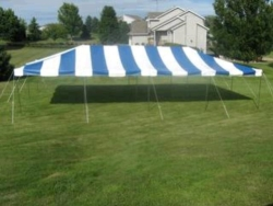 Rental store for 20 X40  B W POLE TENTS in Mishawaka IN