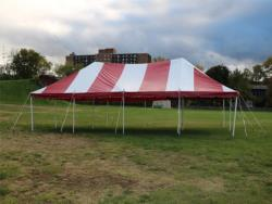 Rental store for 20 X40  R W POLE TENTS in Mishawaka IN