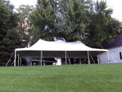 Rental store for 20 X40  WHITE POLE TENTS in Mishawaka IN
