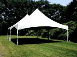 Rental store for 20 X30  WHITE VISTA FRAME TENTS in Mishawaka IN