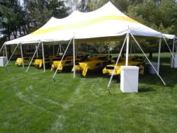 Rental store for 20 X40  Y W POLE TENTS in Mishawaka IN