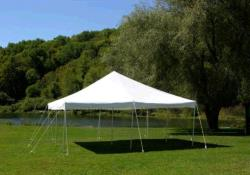 Rental store for 20 X20  WHITE POLE TENT TRADITIONAL in Mishawaka IN