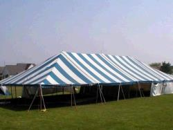 Rental store for 40 X 80  B W MAIN EXPANDABLE POLE TENT in Mishawaka IN