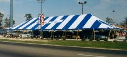 Rental store for 40 X100  B W MAIN EXPANDABLE POLE TENT in Mishawaka IN