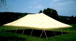 Rental store for 40 X 60  Y W MAIN EXPANDABLE POLE TENTS in Mishawaka IN