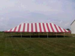 Rental store for 40 X 80  R W MAIN EXPANDABLE POLE TENTS in Mishawaka IN