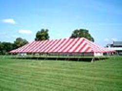 Rental store for 40 X100  R W MAIN EXPANDABLE POLE TENTS in Mishawaka IN