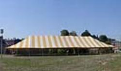 Rental store for 40 X100  Y W MAIN EXPANDABLE POLE TENTS in Mishawaka IN