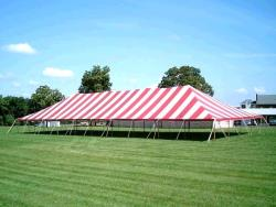 Rental store for 40 X120  R W MAIN EXPANDABLE POLE TENTS in Mishawaka IN