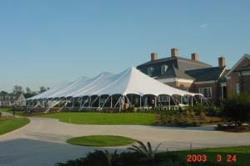 Rental store for 40 X140  WHITE ELITE POLE TENTS in Mishawaka IN