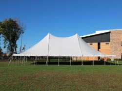 Rental store for 60 X 90  WHITE GENESIS POLE TENT in Mishawaka IN