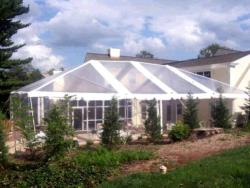 Rental store for 10 X30  CLEAR EXPANDABLE FRAME TENTS in Mishawaka IN