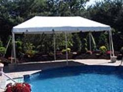 Rental store for 10 X20  WHITE EXPANDABLE FRAME TENTS in Mishawaka IN
