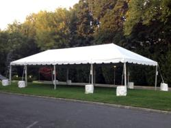 Rental store for 10 X40  WHITE EXPANDABLE FRAME TENTS in Mishawaka IN