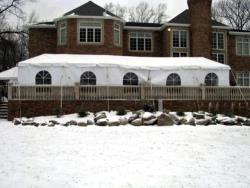 Rental store for 10 X50  WHITE EXPANDABLE FRAME TENTS in Mishawaka IN