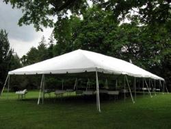 Rental store for 30 X 75  WHITE EXPANDABLE FRAME TENTS in Mishawaka IN