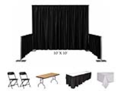 Rental store for BOOTH, 10 X10  CONVENTION KIT  PLASTIC in Mishawaka IN