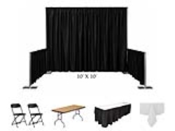 Rental store for BOOTH, 10 X10  CONVENTION KIT  CLOTH in Mishawaka IN