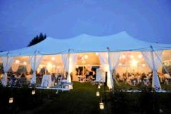 Rental store for 40 X 80  WHITE EVOLUTION POLE TENTS in Mishawaka IN