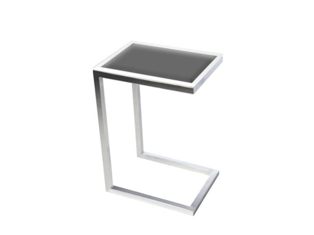Where to find LOUNGE SIDE TABLE METAL WITH GLASS in Mishawaka